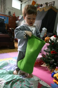 At least Christopher had a stocking
